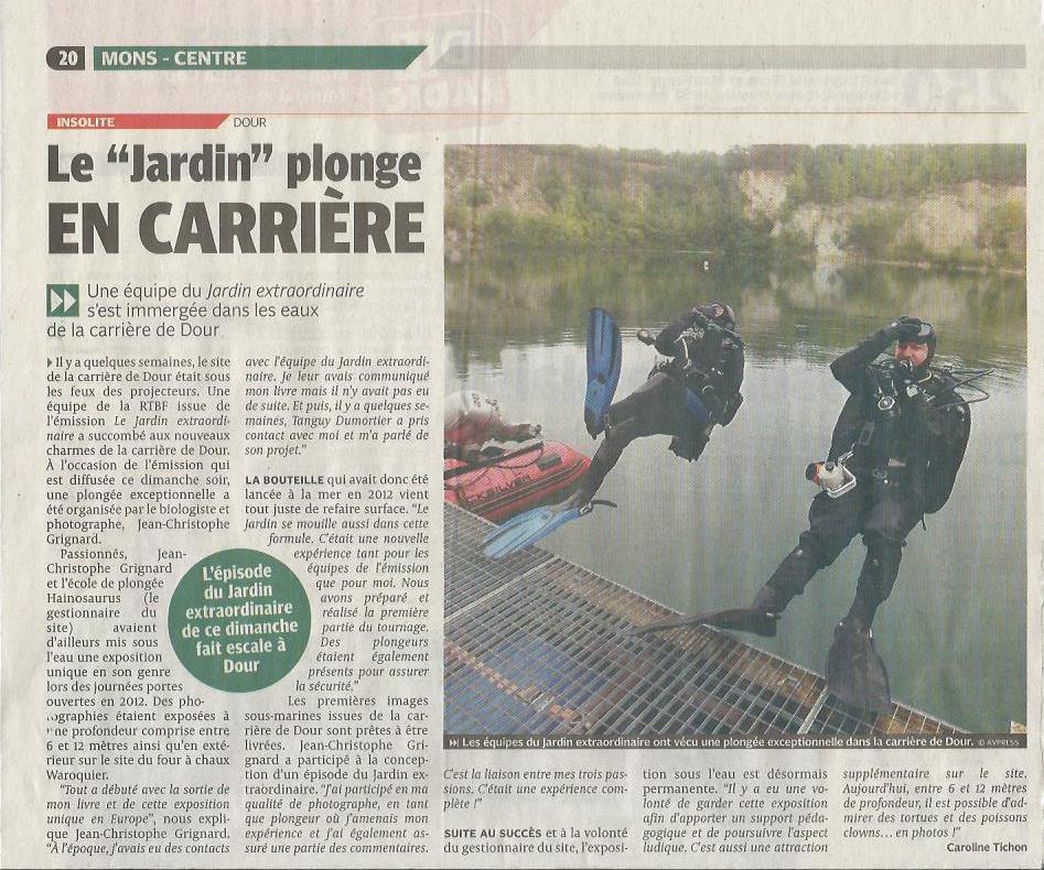 Presse jean christophe grignard for Le jardin imperial marines de cogolin